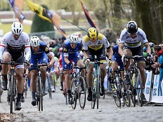 Strecke wie geschaffen für Sagan (rechts)