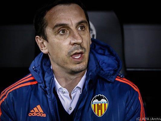 Gary Neville ist Geschichte bei Valencia
