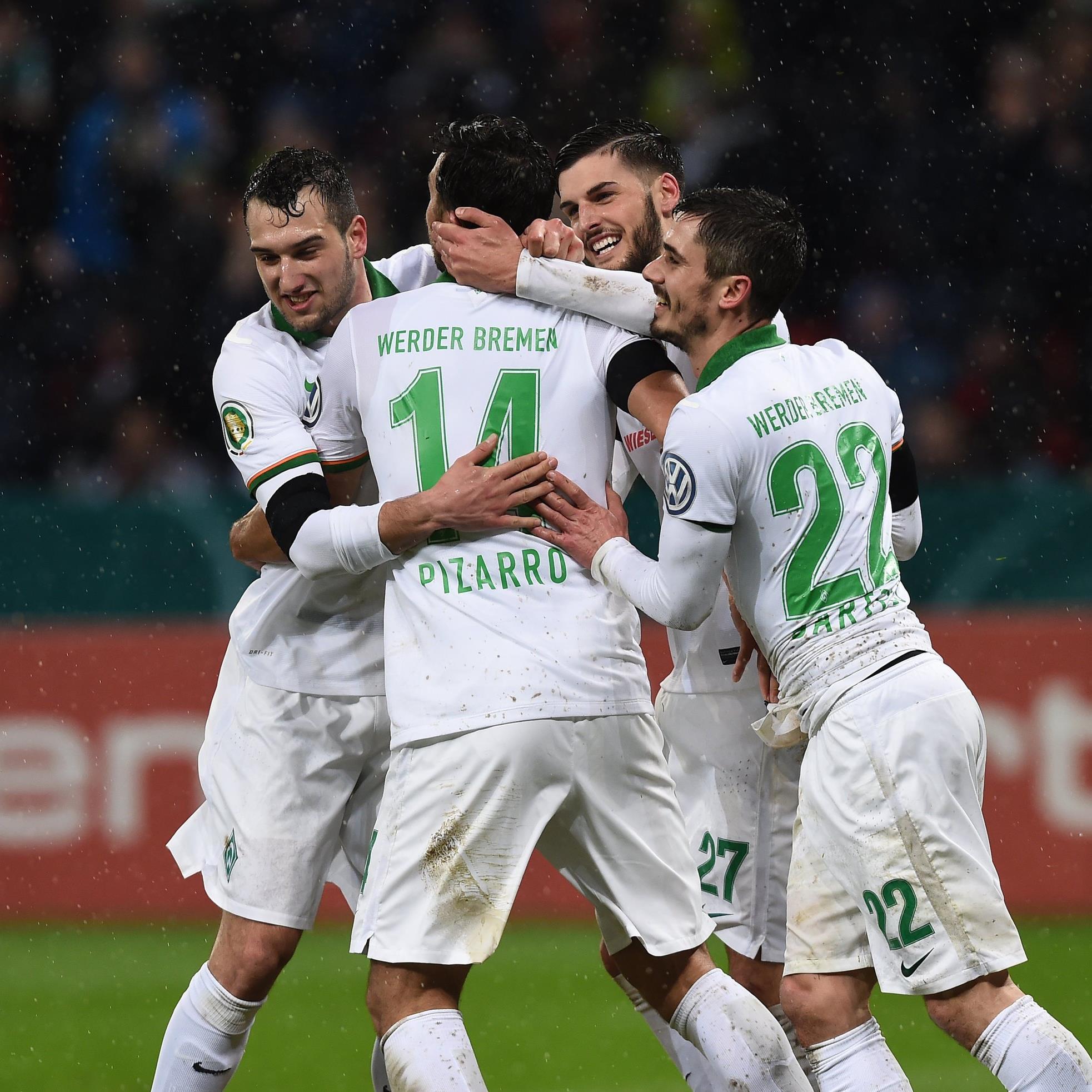 Werder Bremen trifft am Samstag zuhause auf den 1. FSV Mainz 05.