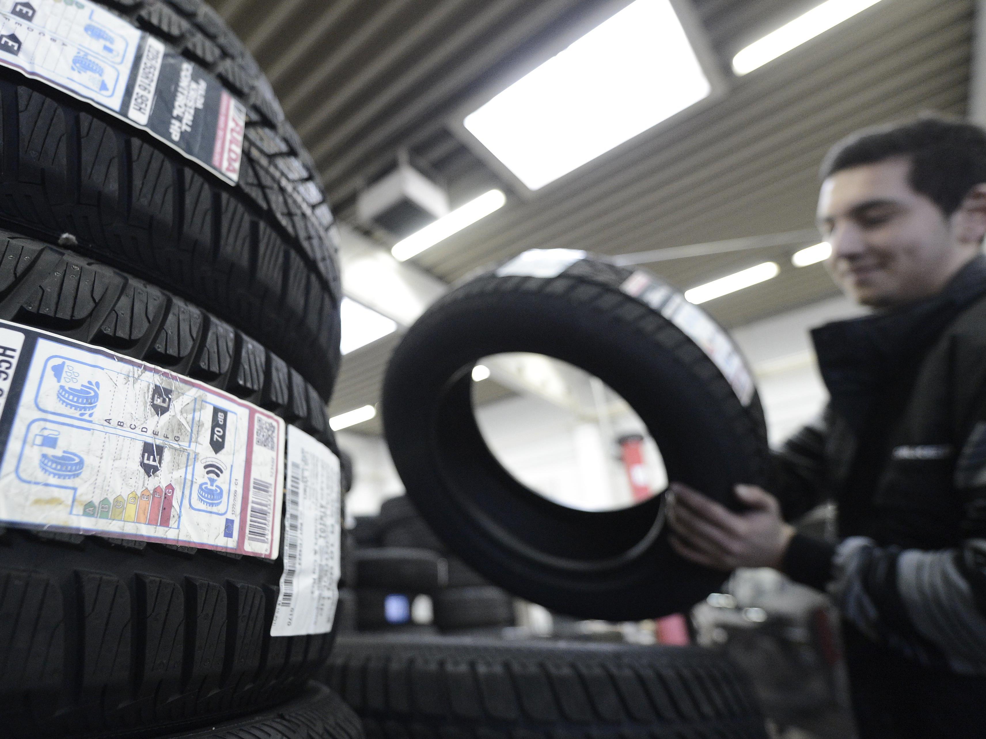 """Fast alle Reifen sind """"sehr empfehlenswert"""" oder """"empfehlenswert"""""""