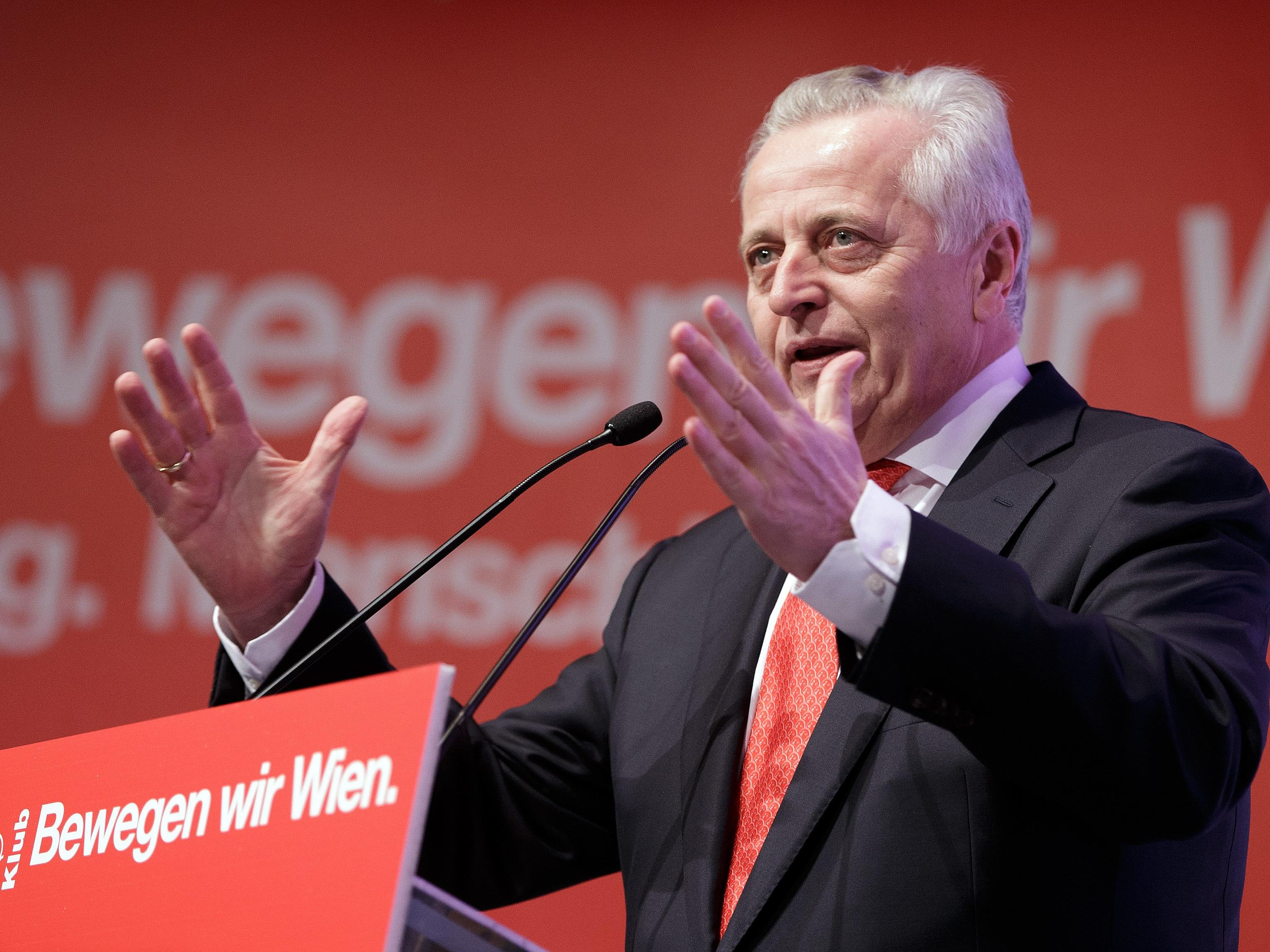 Rudolf Hundstorfer startet in den Wahlkampf.