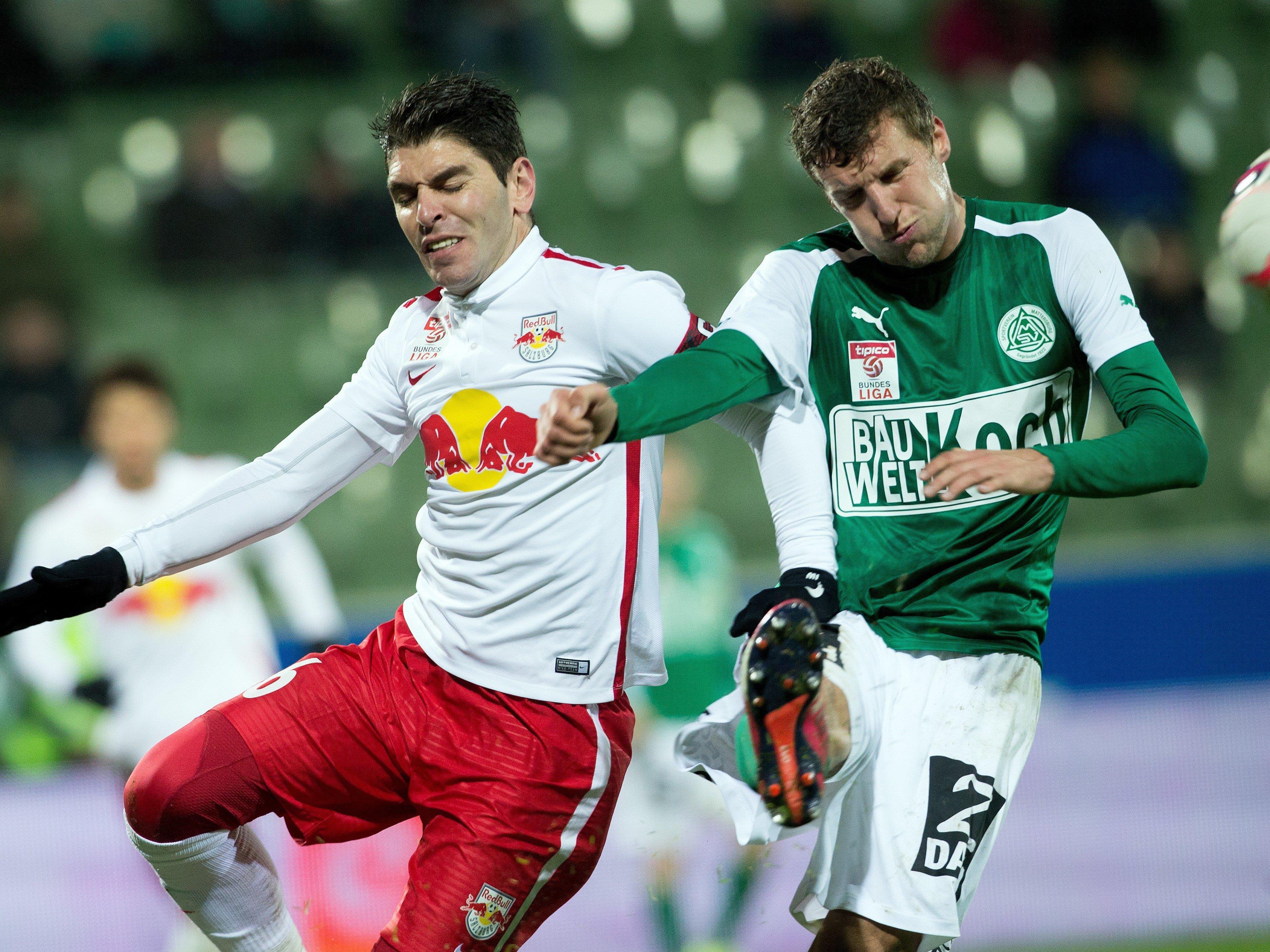 LIVE-Ticker zum Spiel Red Bull Salzburg gegen SV Mattersburg ab 18.30 Uhr.