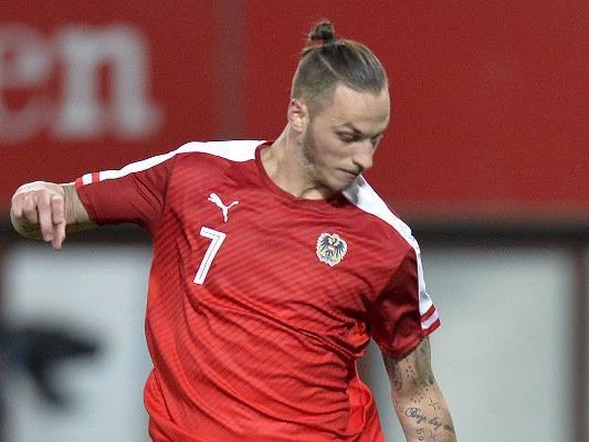 Marko Arnautović und Co. testen am Dienstag gegen die Türkei.