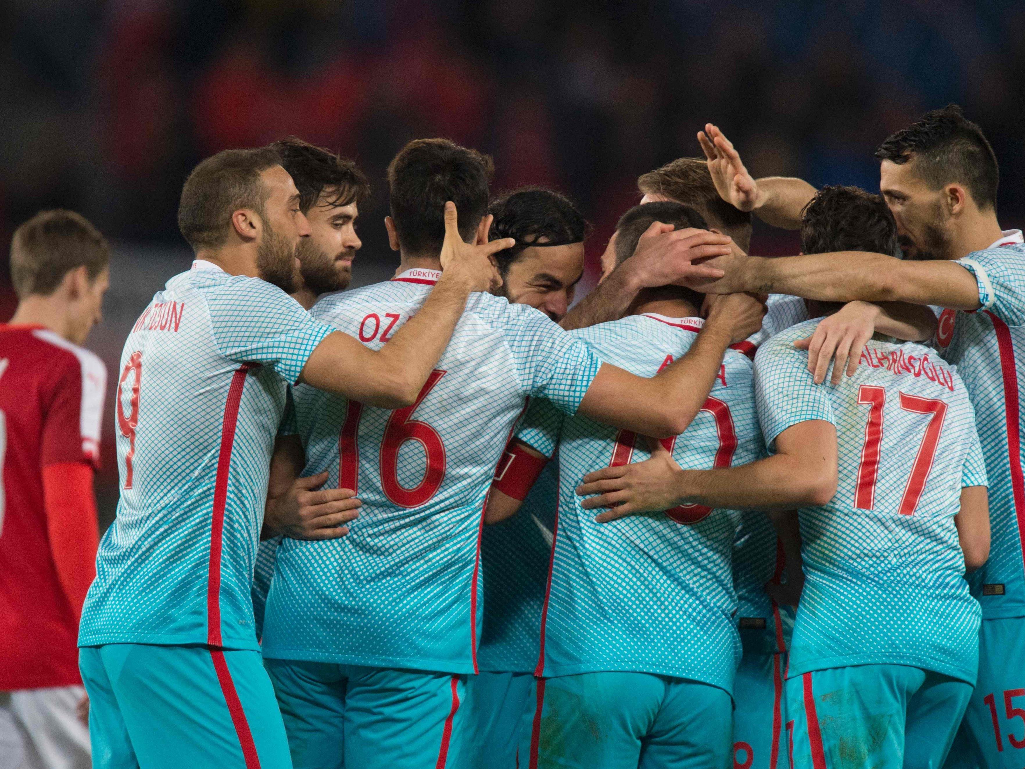 Österreich verliert den EM-Test gegen die Türkei mit 1:2.