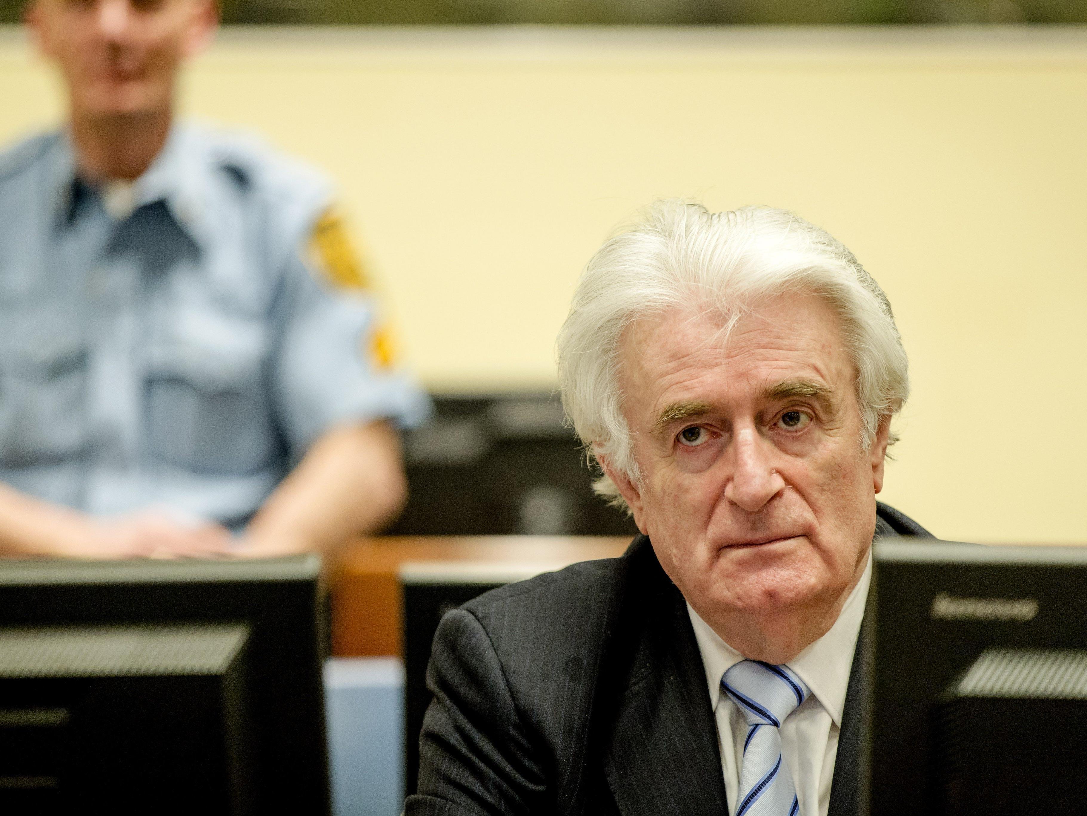 Radovan Karadzic wurde zu 40 Jahren Haft verurteilt.