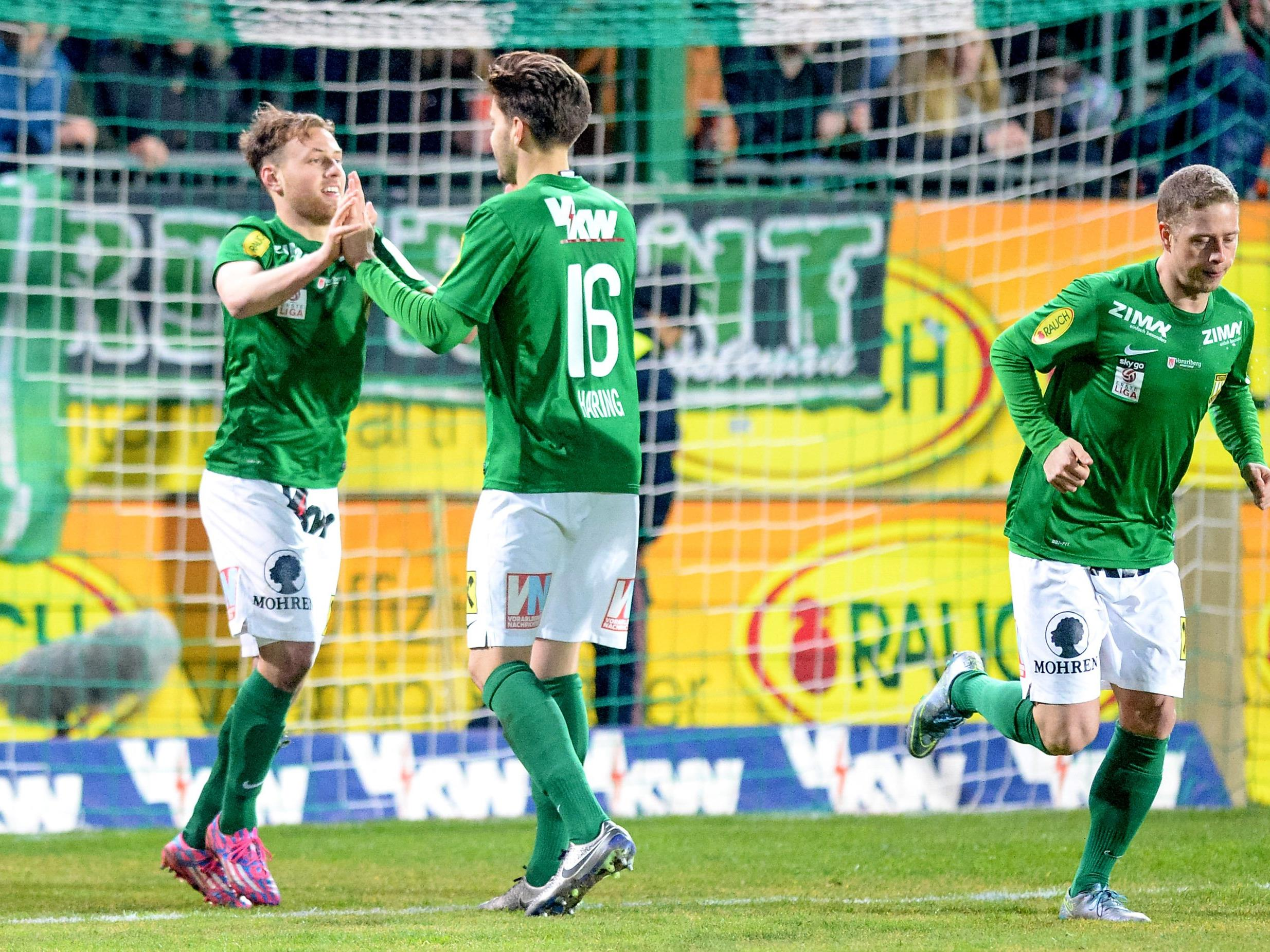 Die Lustenauer austria hat in den letzten Spielen eine beeindruckende Serie hingelegt.