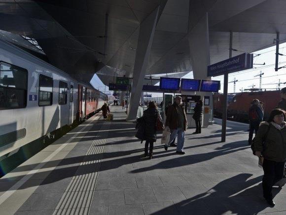 Am Wiener Hauptbahnhof gibt es aktuell eine Diebstahlsserie