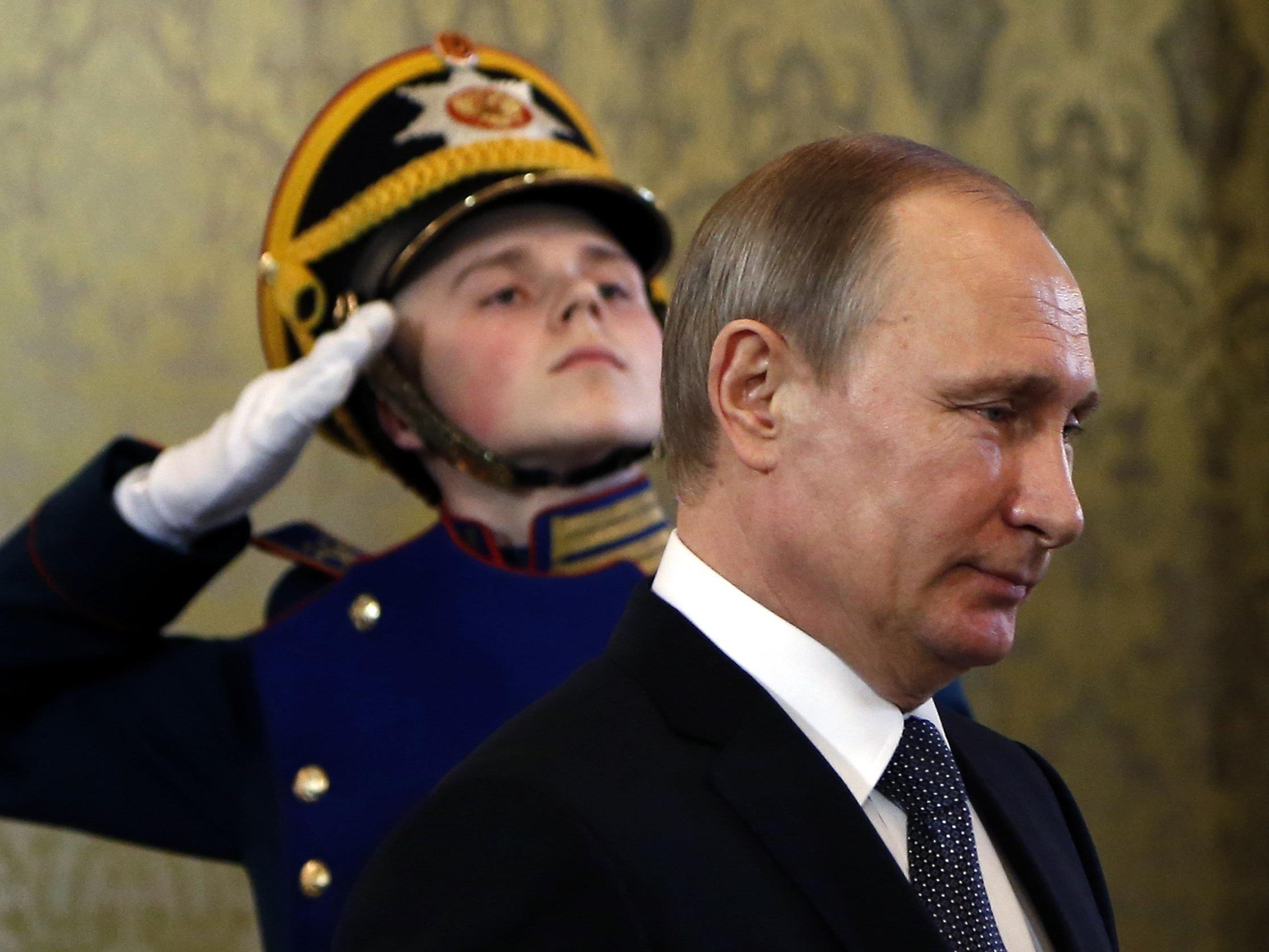 Putin ordnet Abzug an.