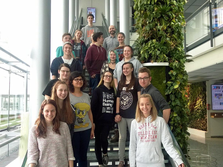 Schüler des BG Bludenz waren zu Besuch bei Russmedia.