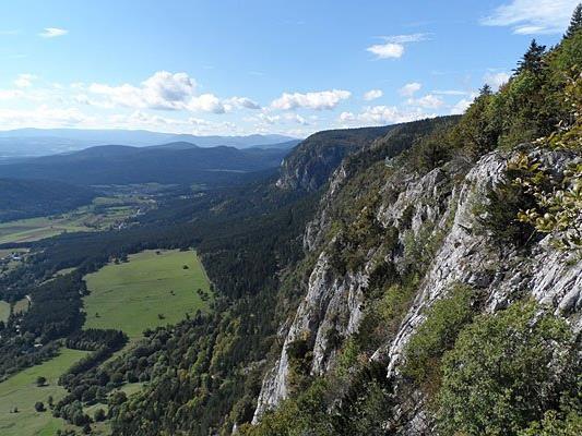 Bergsteiger gerieten auf der Hohen Wand in NÖ in steiles Gelände