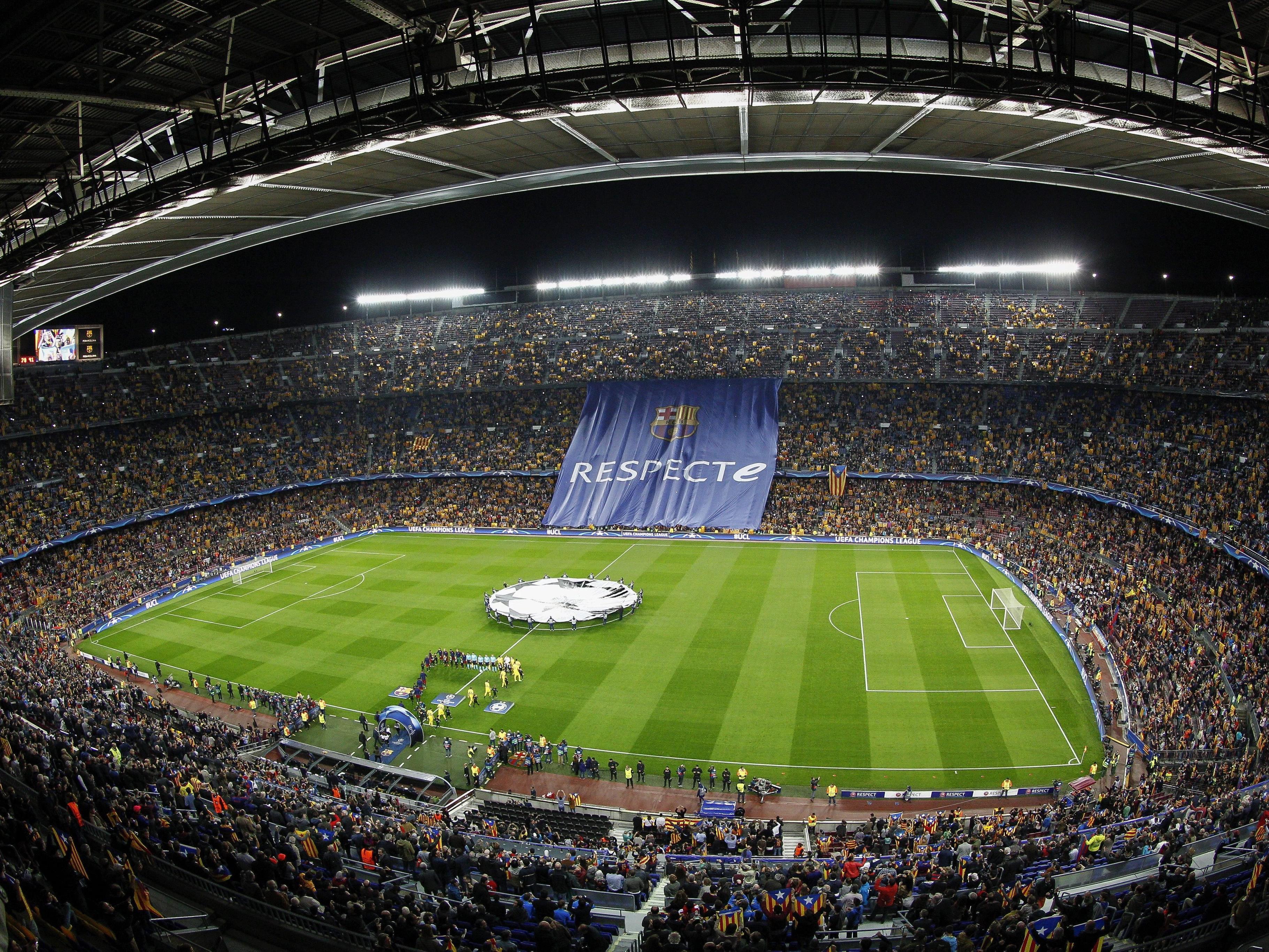Das Estadi Camp Nou wird ab 2017 rundumerneuert.