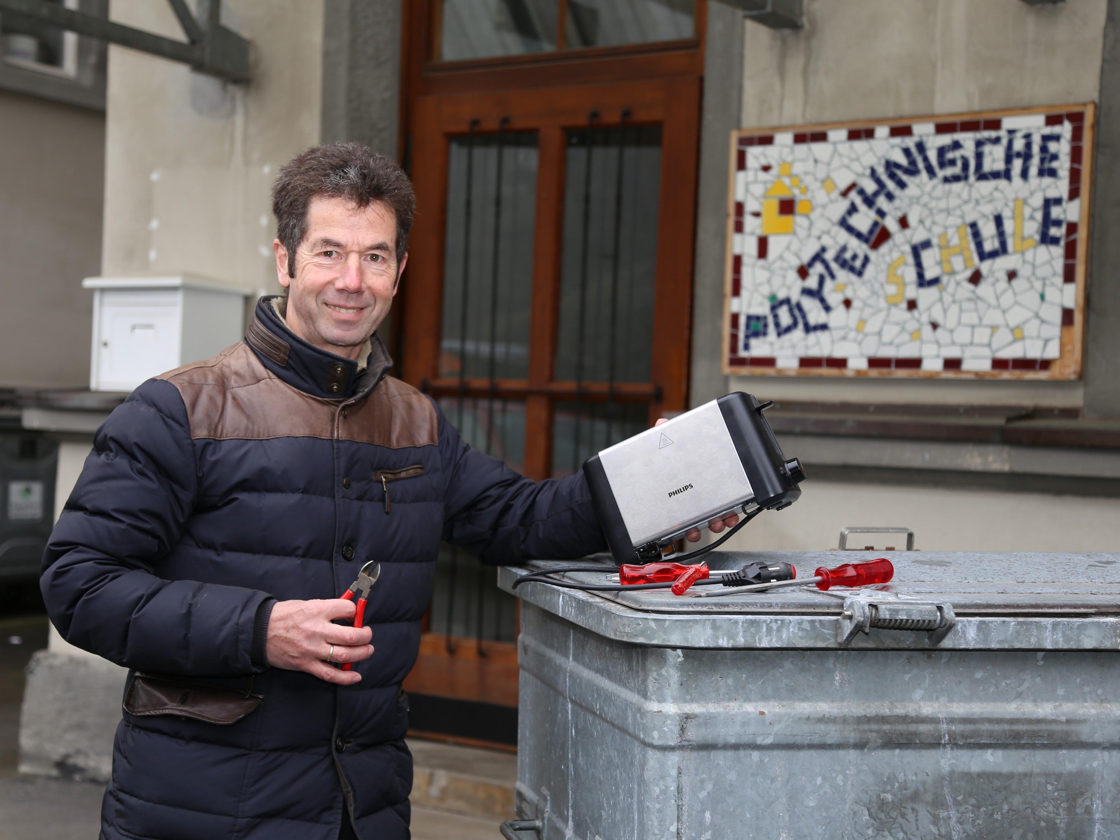 Das Reparatur Cafè Feldkirch besteht aus einem Team Ehrenamtlicher.
