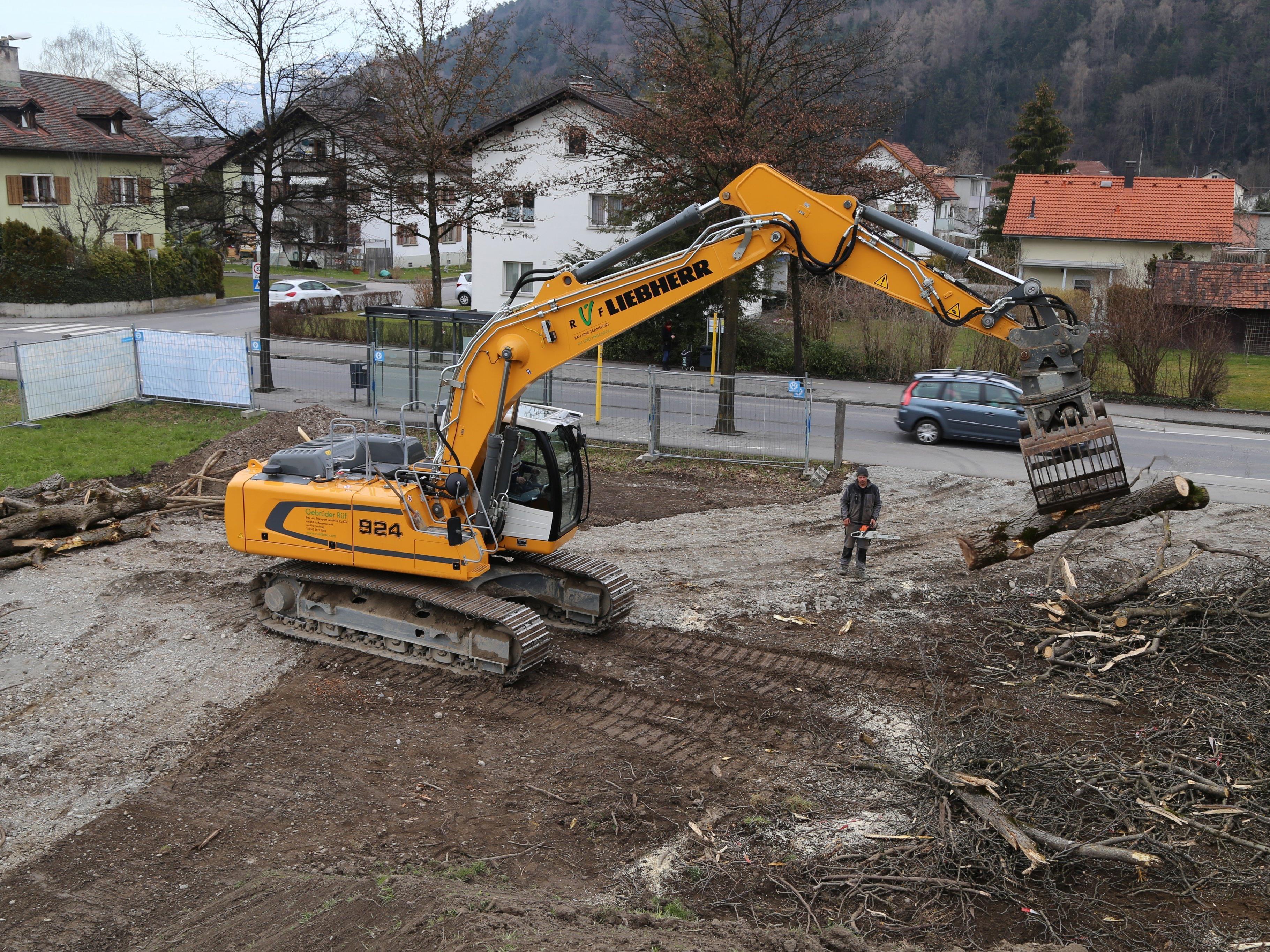 Kürzlich startete das Wohnbauprojekt in der Hämmerlestraße.