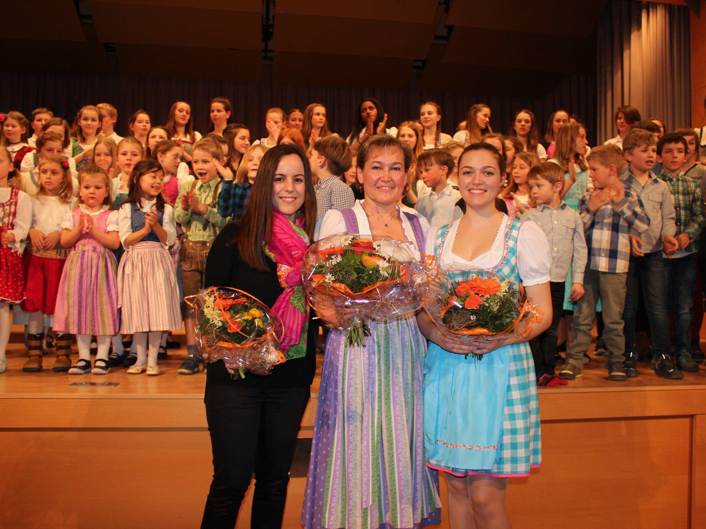 Desirée Metzler, Birgit Giselbrecht-Plankel und Clara Böhler.