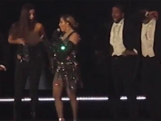 Madonna sorgt für Skandal.