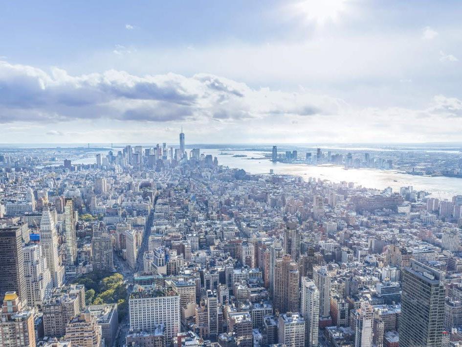 Das größte Foto das je von New York City gemacht wurde - inklusive Zoom und 360-Grad-Funktion.