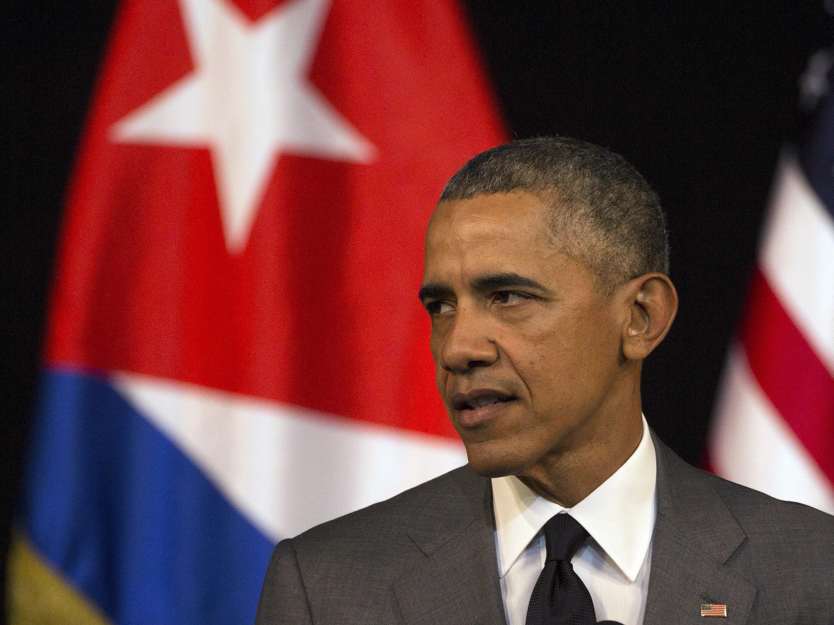 US-Präsident ruft Kubaner zu Reformen auf.