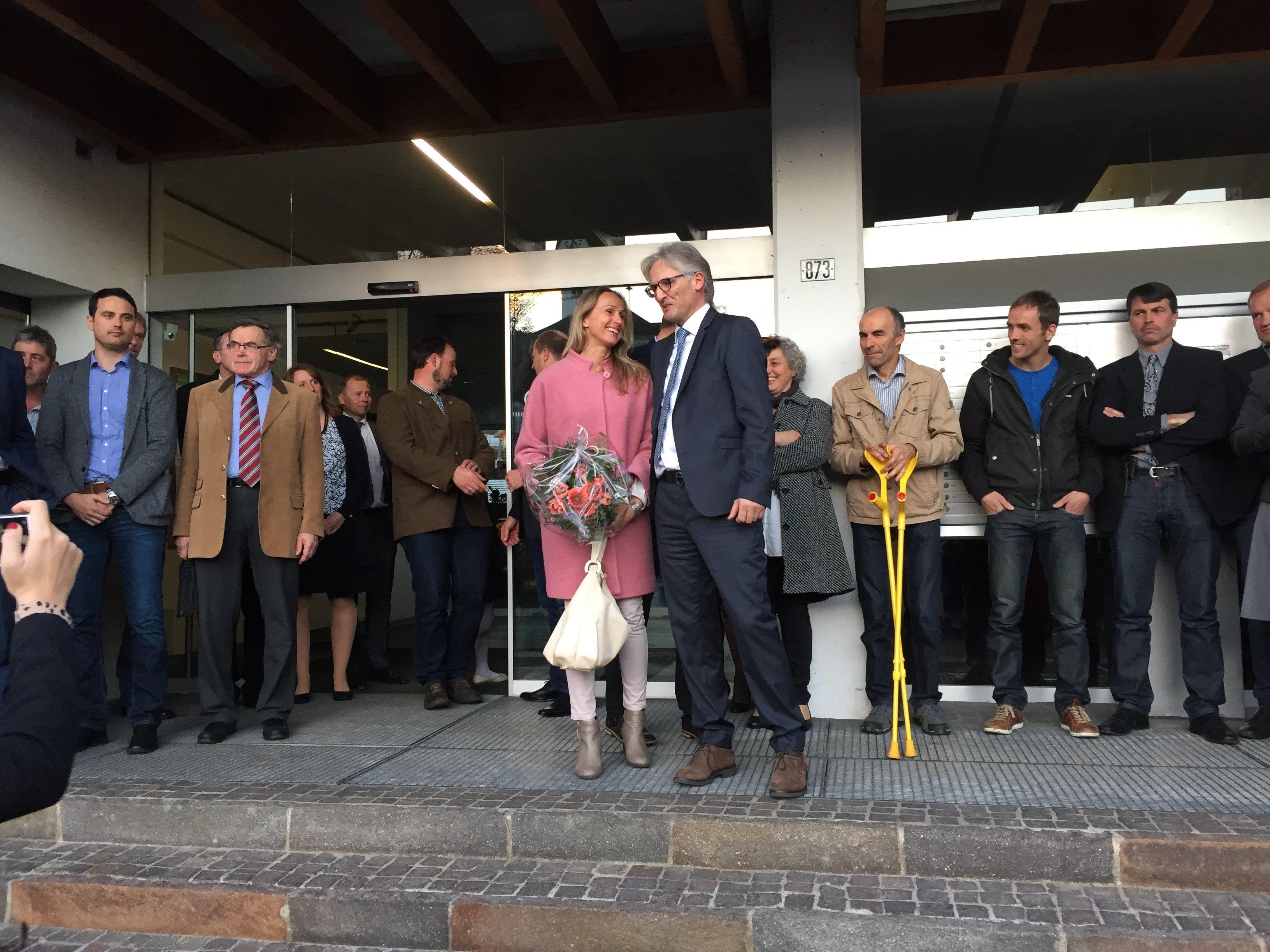 Egg beendet Monate ohne Bürgermeister. Carmen Willi ist neue Gemeinderätin.