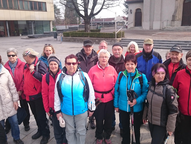 Radteam per pedales auf dem Weg von Höchst zur Narzissenblüte in Appenzell