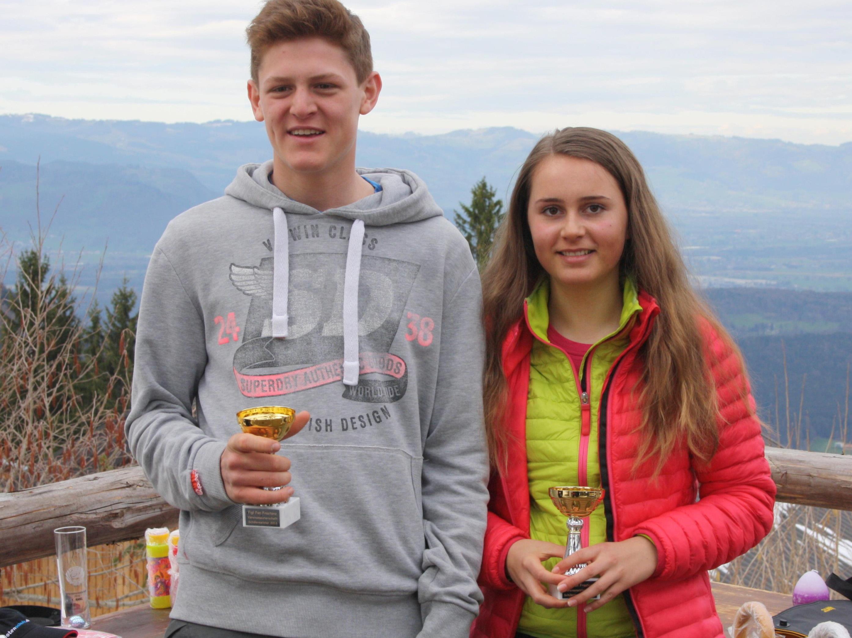 Schüler,- und Vereinsmeister 2016