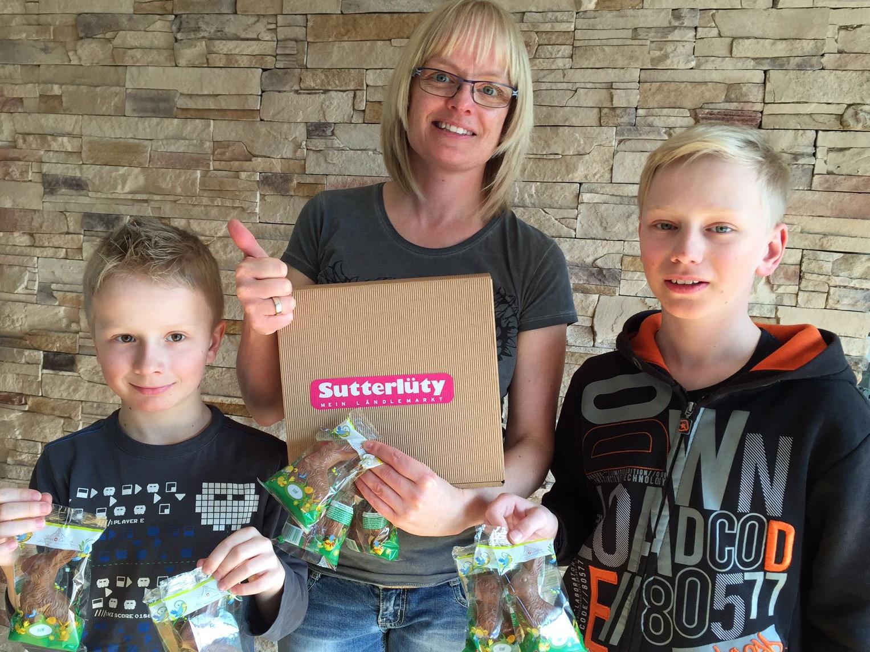 Süße Überraschung für Petra und ihre Kinder