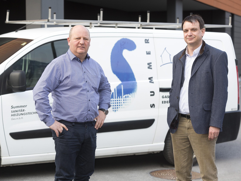 Klar auf Expansion ausgerichtet: Stefan Summer (links) und Philipp Tomaselli wollen mit einer noch engeren Zusammenarbeit neue Kunden gewinnen.