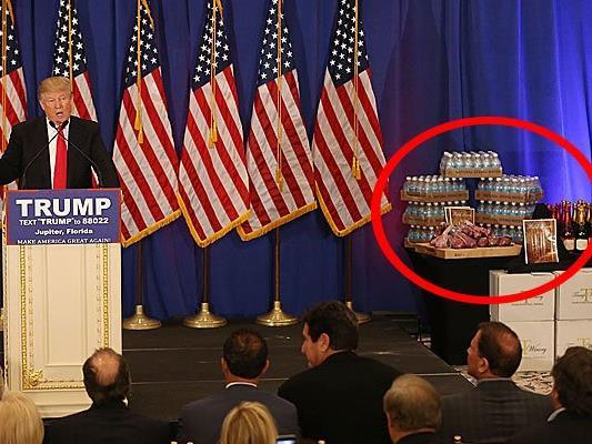 """Weit und breit keine Spur von Produkten der Marke """"Trump""""."""