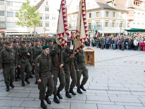 Mehr Vorarlberger sollen Wehrdienst zuhause ableisten.