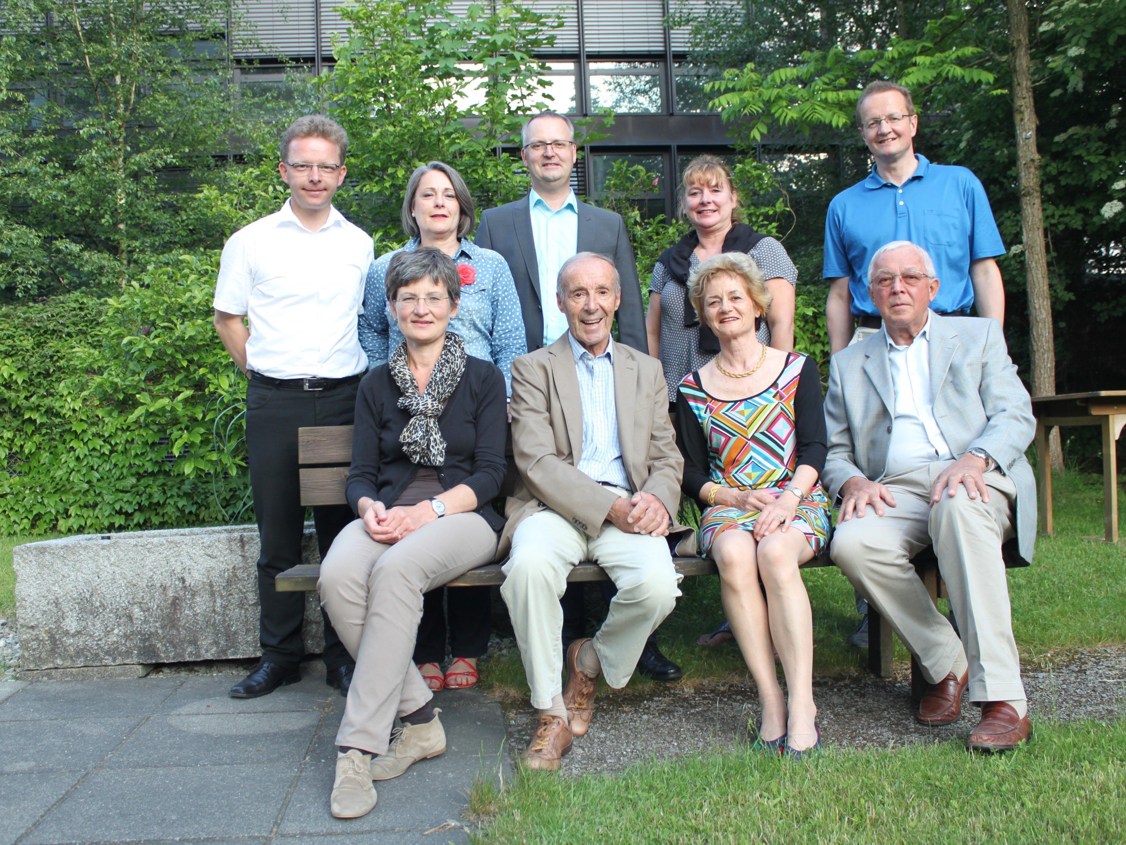Der Vorstand des Krankenpflegevereins Feldkirch-Levis-Tisis.