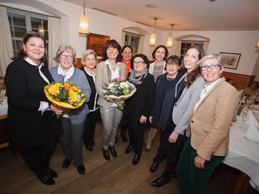 Vorstand der neuen GUTA Bregenz mit Landesleiterin Martina Rüscher