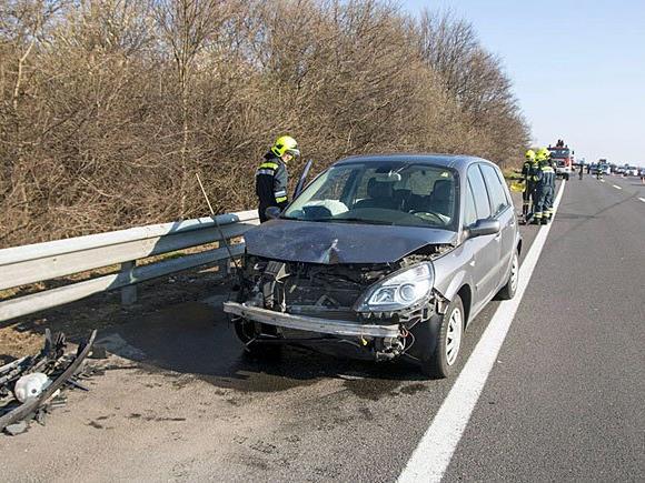 Die Unfallstelle auf der Südautobahn (A2)
