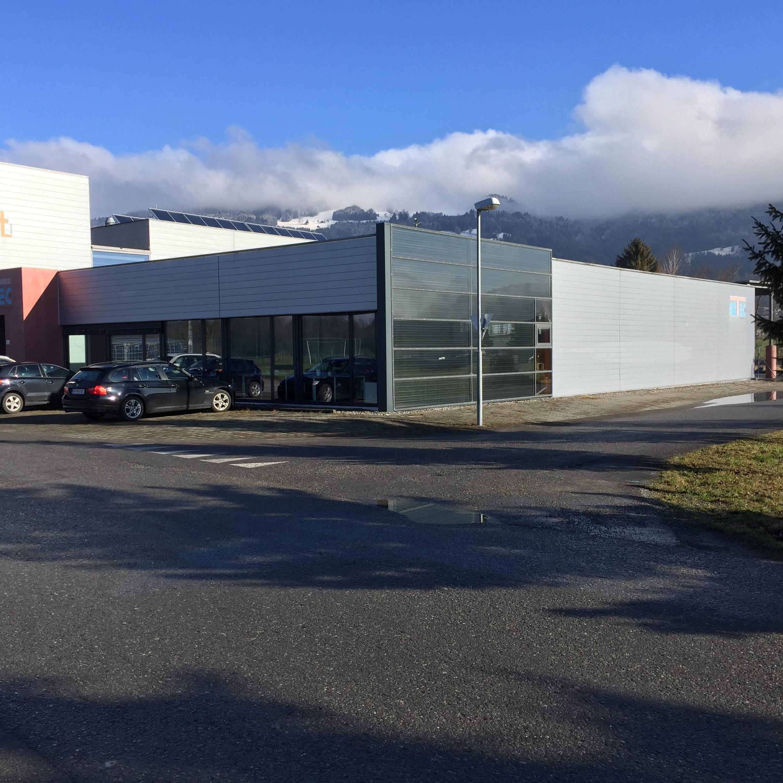 Aerocompact hat ihren Hauptsitz vor wenigen Tagen von Schlins nach Satteins verlegt.