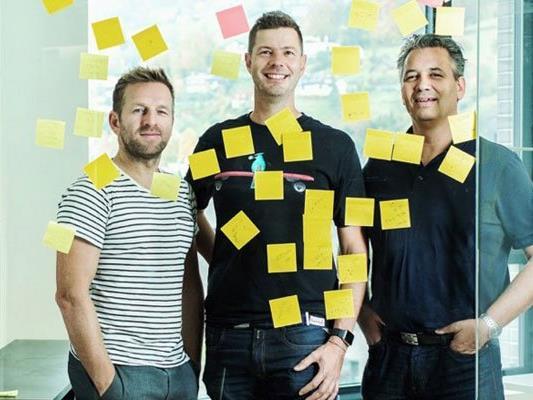 Das Gründerteam von Crate: Bernd Dorn, Jodok Batlogg und Christian Lutz. (v.l.n.r.)