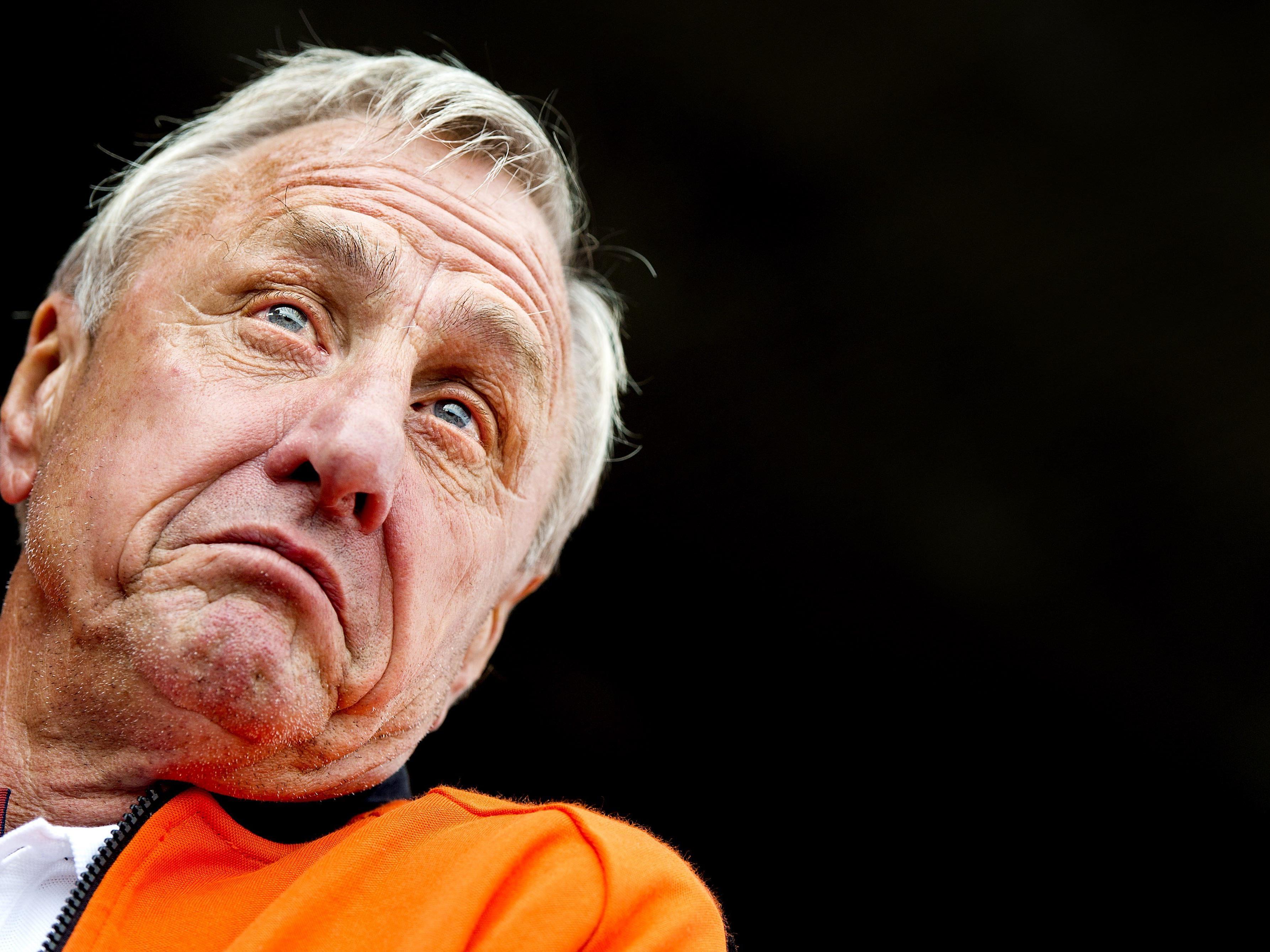 In einem hatte er wohl recht: Der Name Cruyff dürfte noch einige Zeit ein Begriff sein.