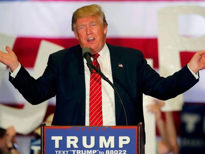 Der umstrittene Anwärter der Republikaner: Donald Trump.