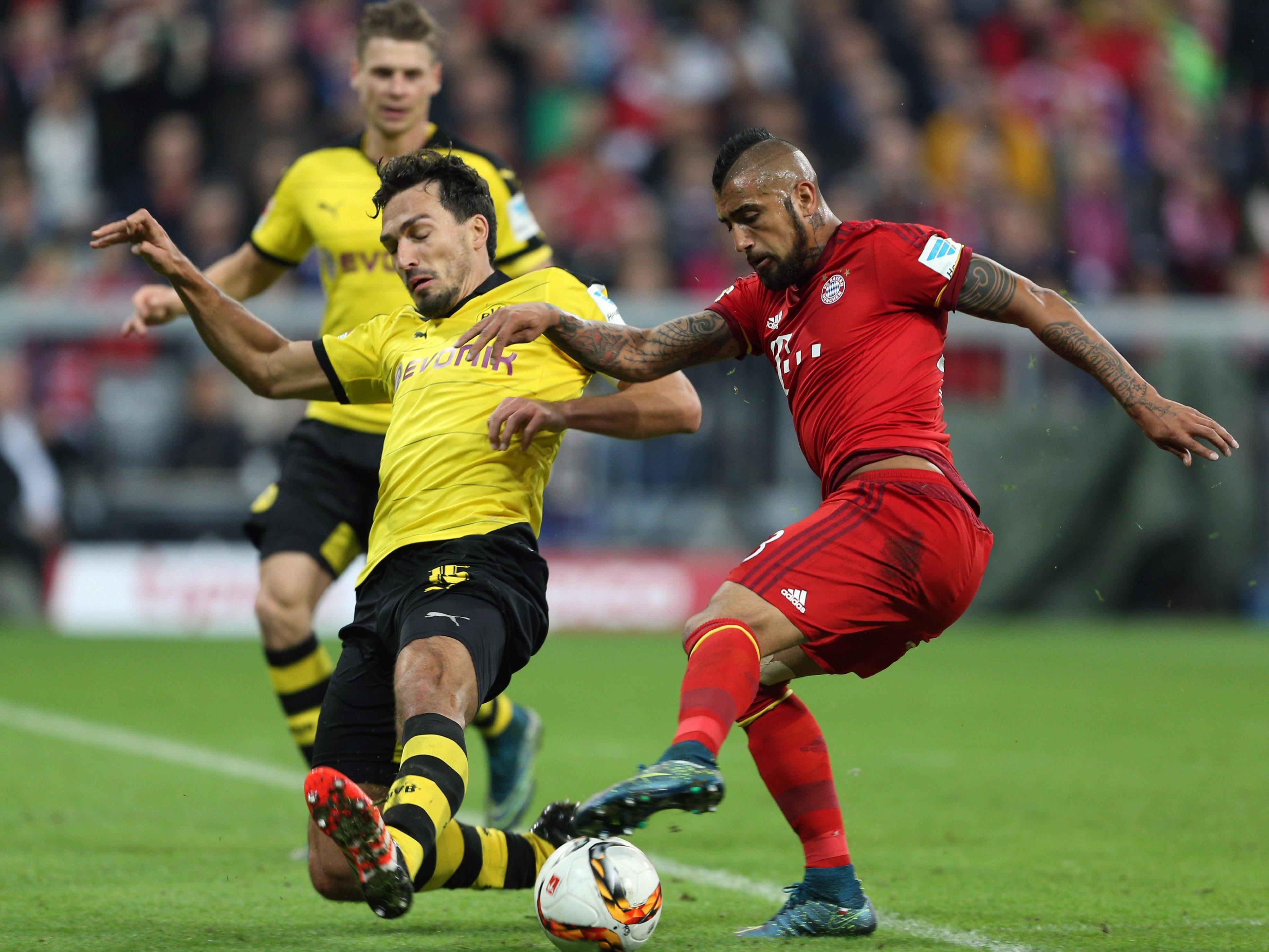Showdown zwischen Bayern und Dortmund.