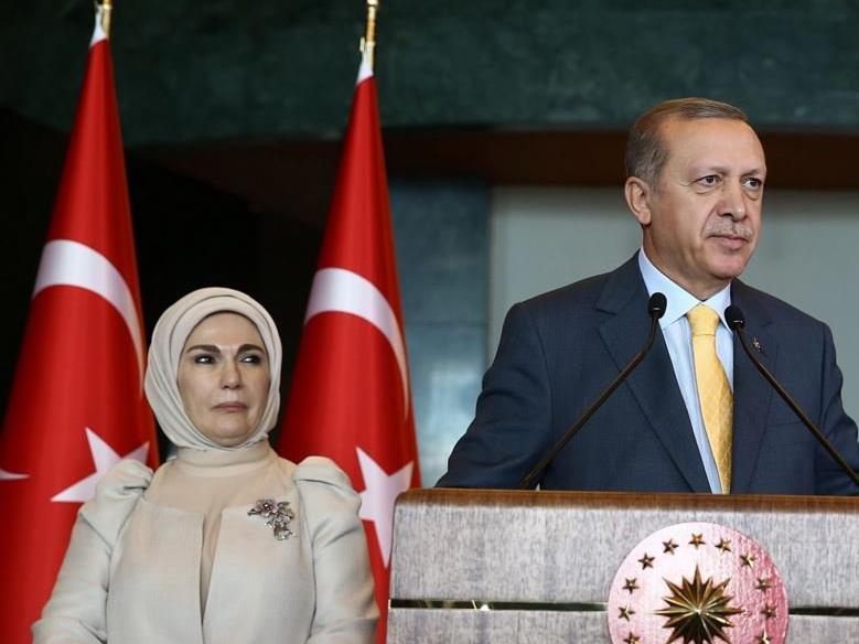 Emine und Recep Tayip Erdogan.