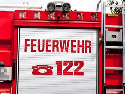 Feuerwehr war mit drei Fahrzeugen vor Ort