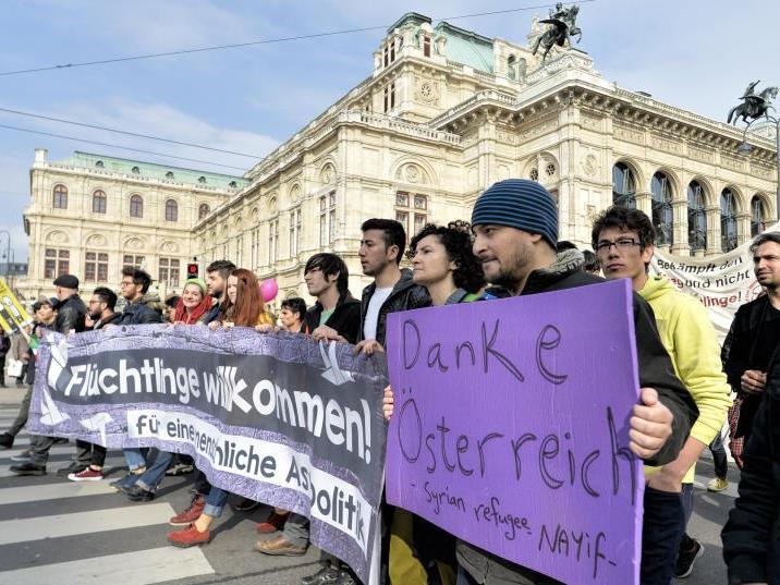 Große Pro-Aysl-Demo am Samstag in Wien.