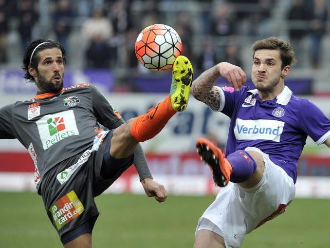 Mit 0:0 endete für die Austria die Partie gegen WAC.