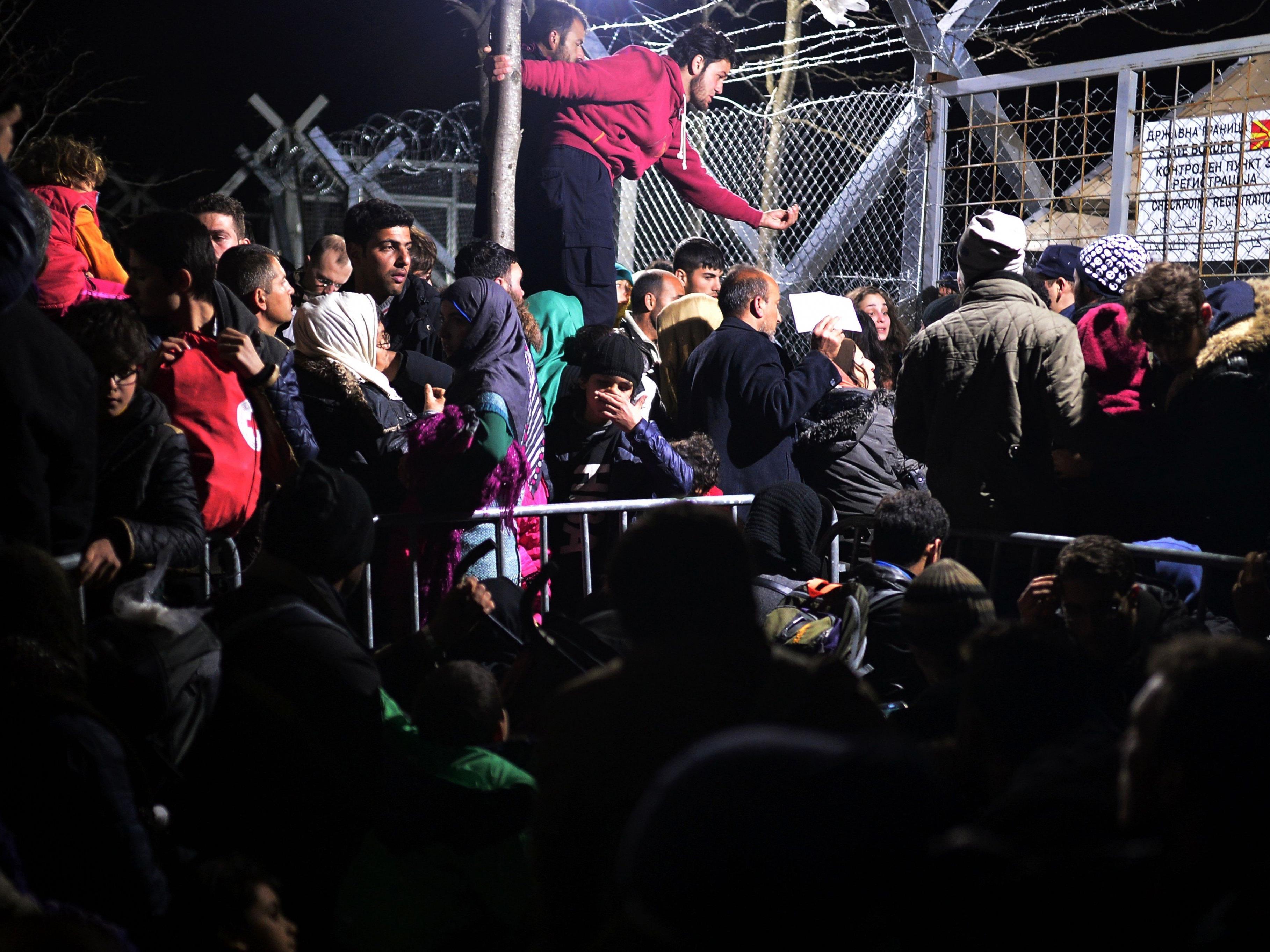 Griechenland: Durchgewunken werden können die Migranten nicht mehr