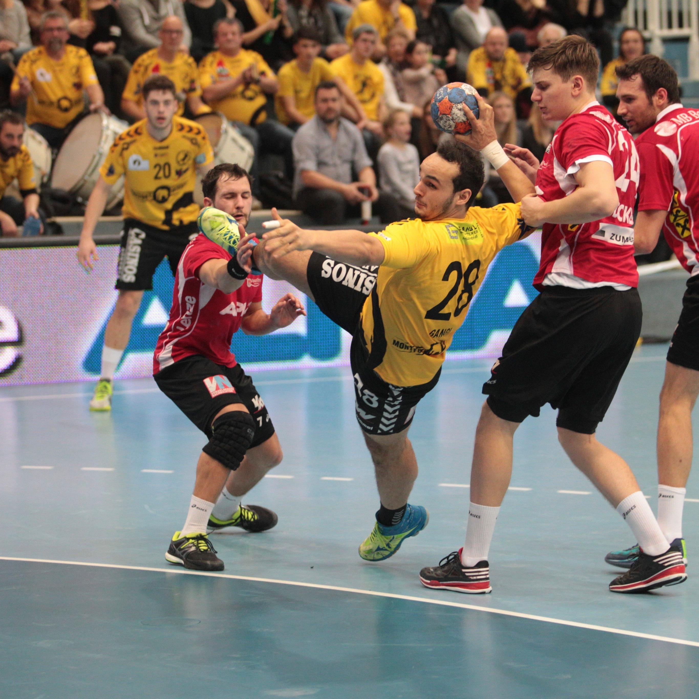 Bregenz gewinnt Ländle-Derby gegen HC Hard 23:22