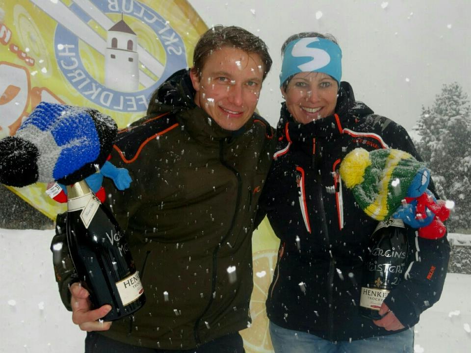 Vereinsmeister Stefan Gastl und Vereinsmeisterin Stefanie Nicolussi