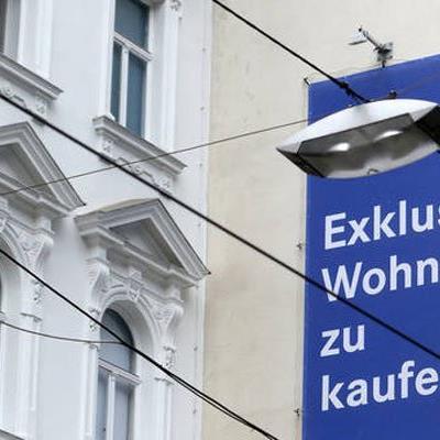 Anstieg beim Immoblien-Eigentum in Österreich.