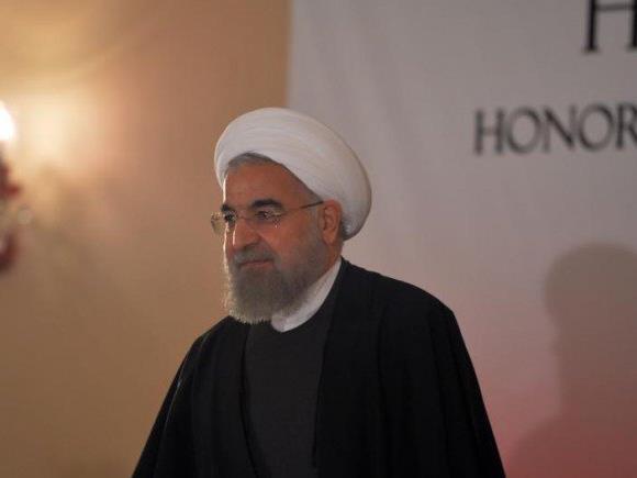 """""""Aus Sicherheitsgründen"""" wurde der Besuch der iranischen Präsidenten Rouhani abgesagt."""