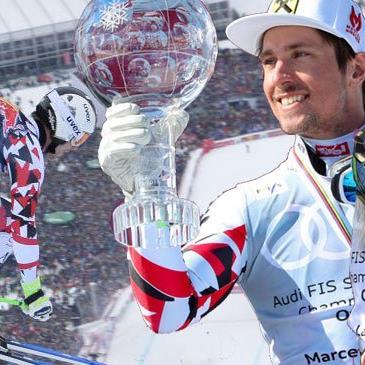 Hirscher und Gut bejubeln Gesamtweltcup-Sieg
