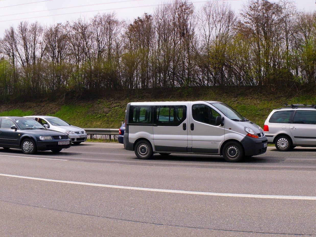 Unfall: Stau auf A14