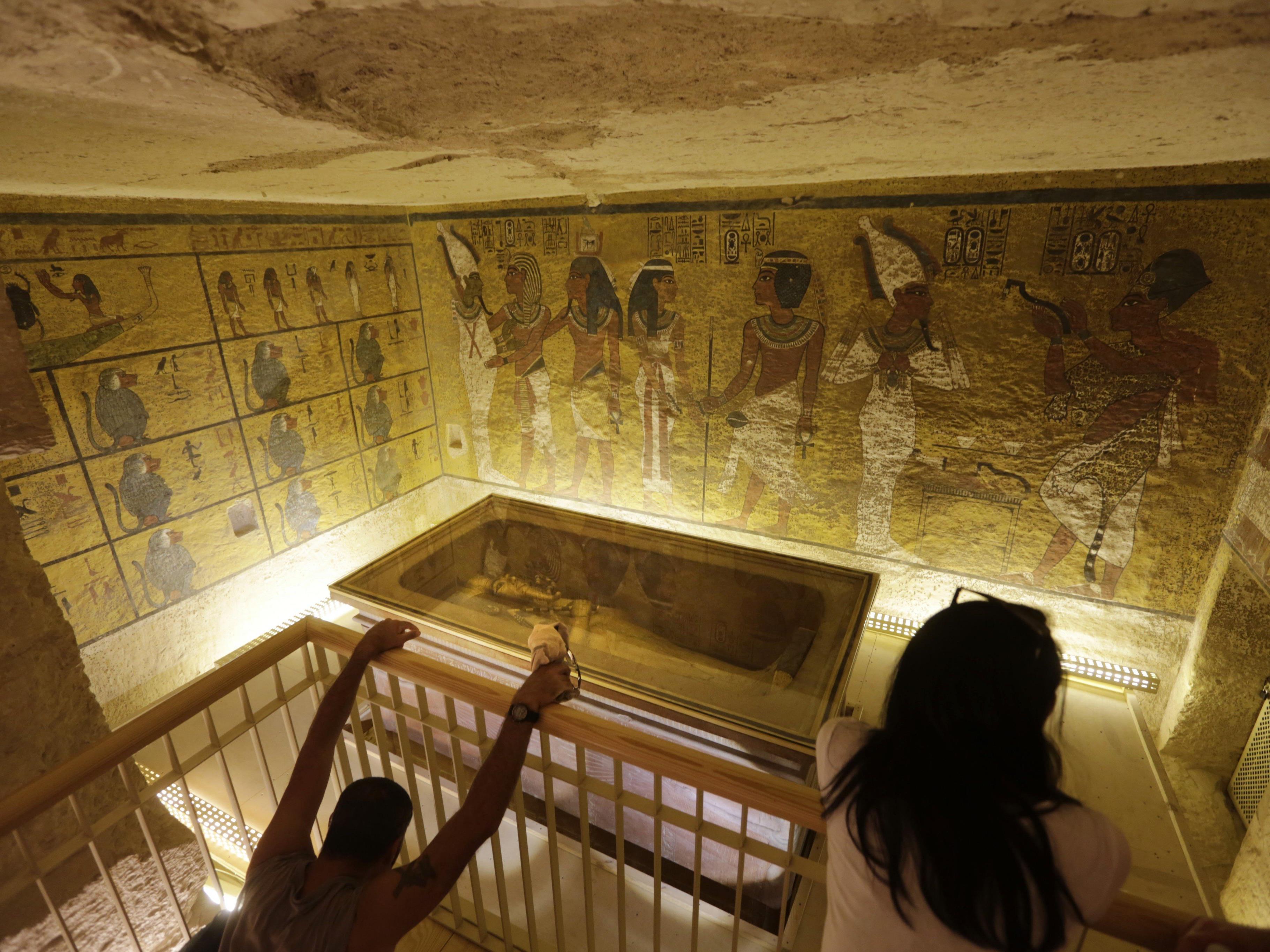 Sensationsfund wird wahrscheinlicher: Liegt Nofretete im Grab des Tutanchamun?