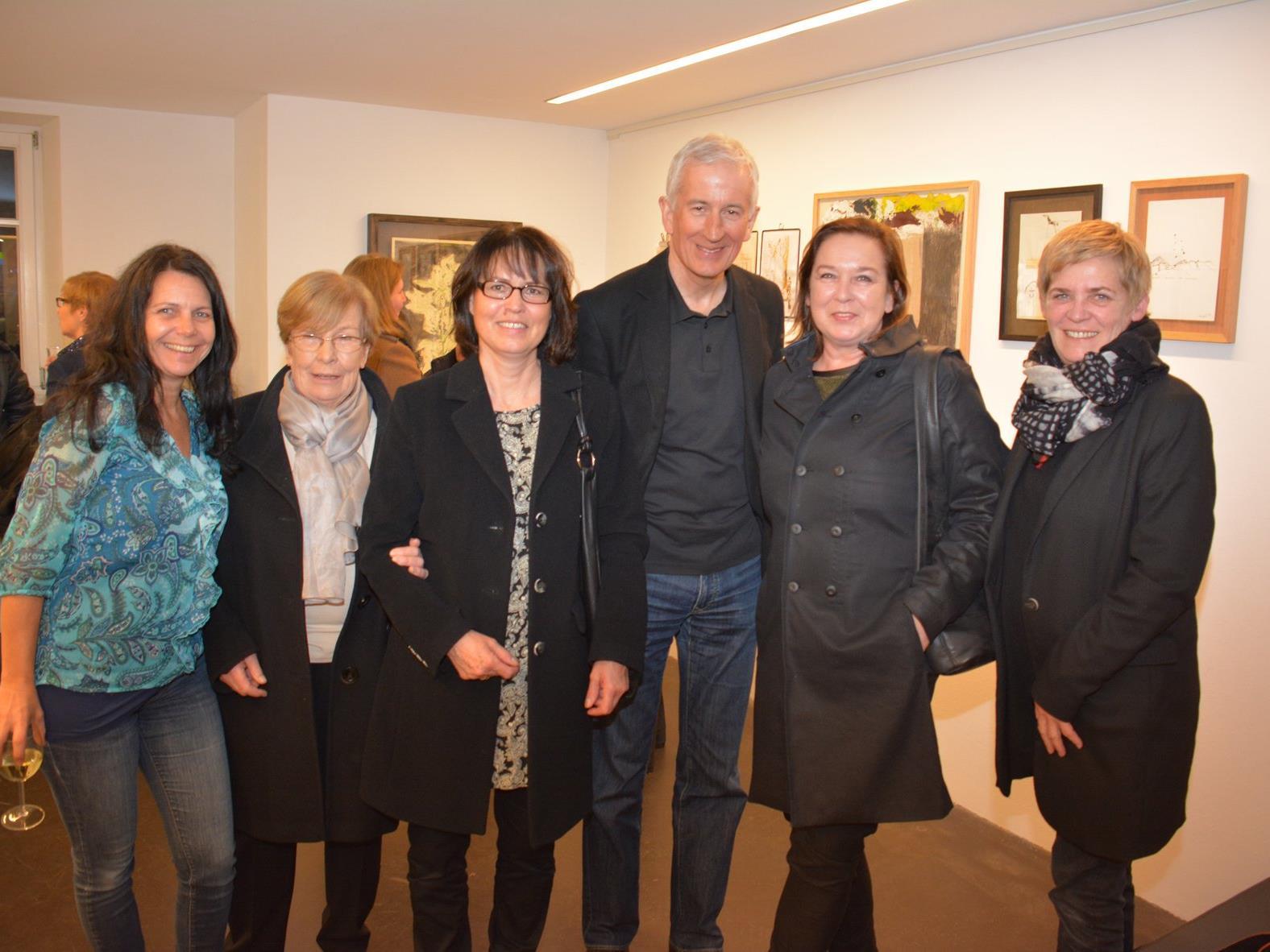 Andrea Juriatti, Pia Köhlmeier, Sabine u. Wilfried Berchtold, Sabine Köhlmeier u. Andrea Romagna