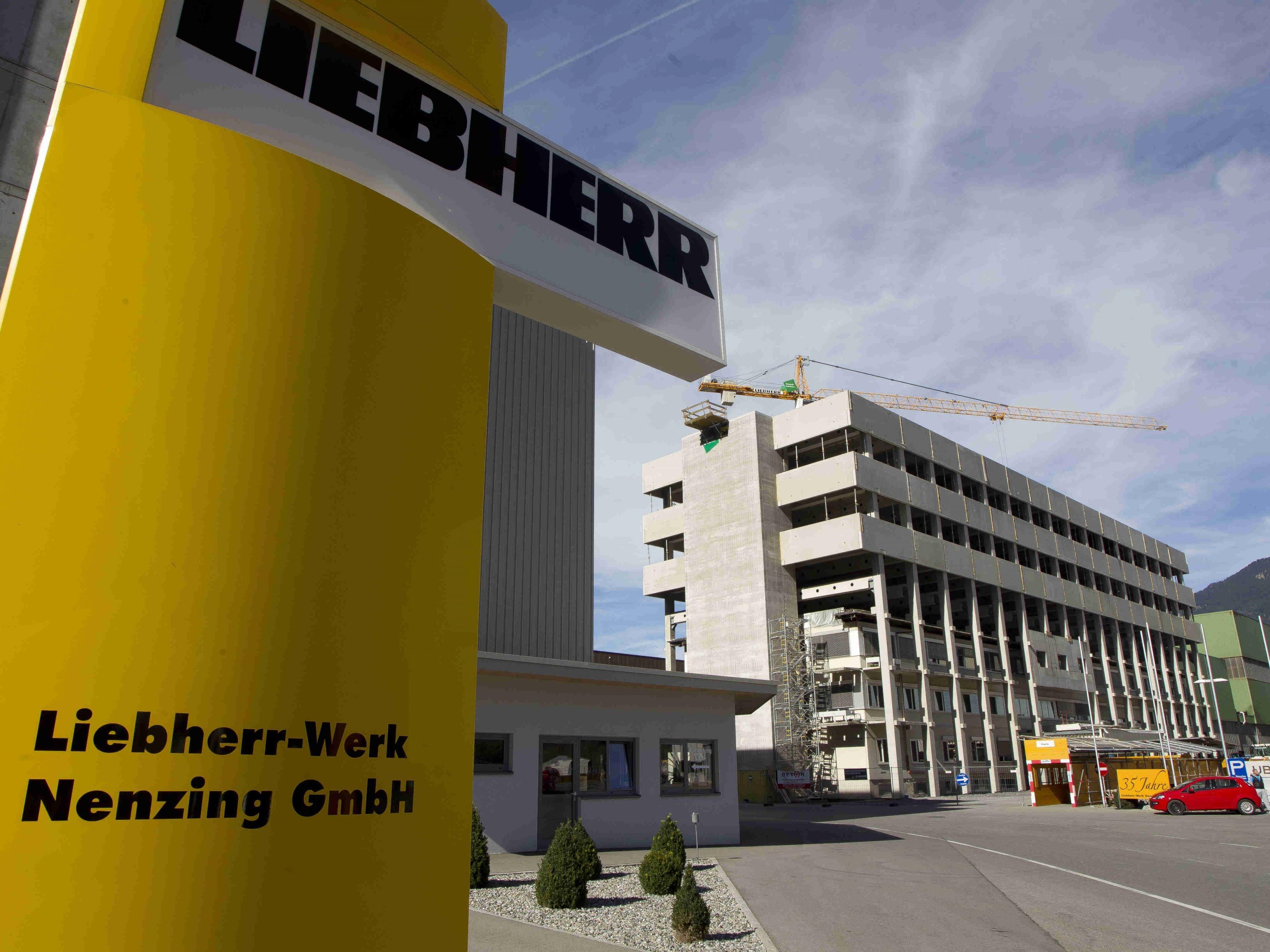Das Liebherr-Werk Nenzing konnte Aufträge in Höhe von 50 Mio. Euro lukriert.